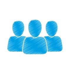 People network team vector