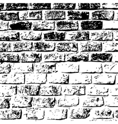 design element Ancient brick wall texture vector image