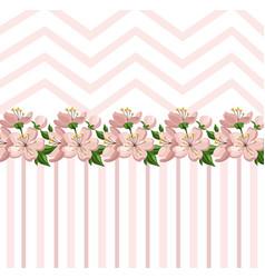 vintage roses floral card summer roses vector image