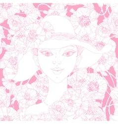 Beautiful fashion women vector