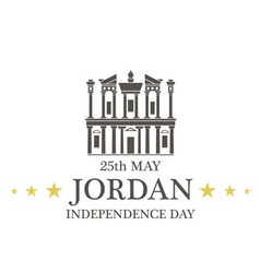 Independence Day Jordan vector
