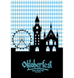 Oktoberfest card vector