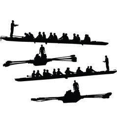 Rowings vector