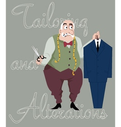 Tailor vector image