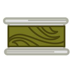 preserved green seaweed vector image vector image