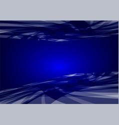 abstract blue wave background graphic design vector image