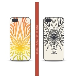 Design Case for Phone Abstract Marijuana One vector