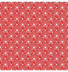Design seamless red spiral diagonal pattern vector image