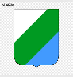 emblem province of italy vector image