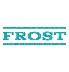Frost Watermark Stamp vector