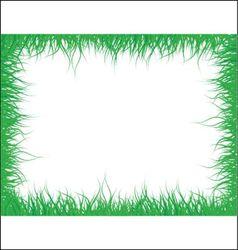 Grass frame vector