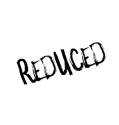 reduced rubber stamp vector image