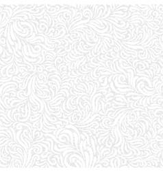 seamless frost white pattern vector image
