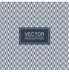 stylish seamless zigzag pattern - trendy design vector image