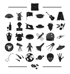 Tourism entertainment music and other web icon vector