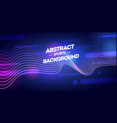 abstract modern colored poster background vector image