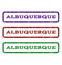 Albuquerque watermark stamp vector