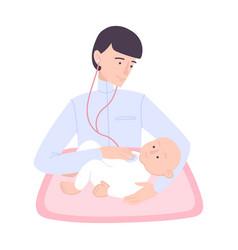 Children doctor visit composition vector