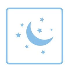Night icon vector image