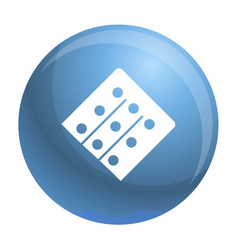 part of pill pack icon simple style vector image