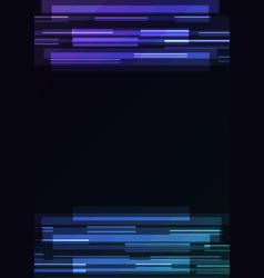 purple blue overlap pixel speed abstract backgroun vector image