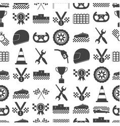 racing sport background pattern on a white vector image