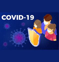 Stop 2019-ncov covid-19 coronavirus vector