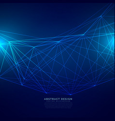 technology digital background made with wire mesh vector image