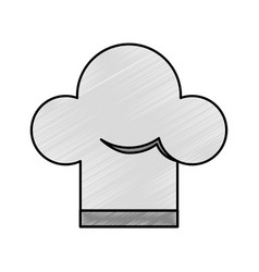 chef hat isolated icon vector image vector image