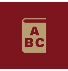 Alphabet icon design library and abc vector