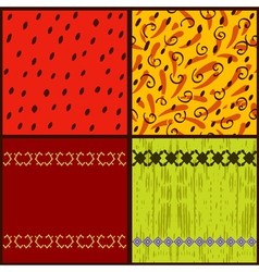 set seamless3 vector image