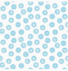 harmful blue bacteria seamless pattern vector image vector image