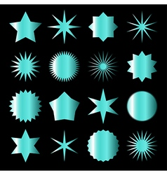 Azure stars vector