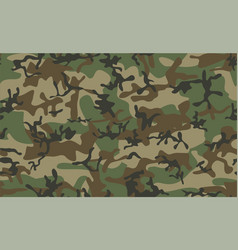 Classic camouflage seamless pattern vector