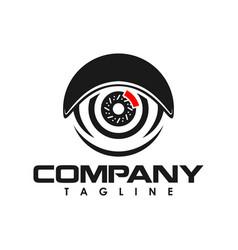 fender auto vision logo creative concept vector image