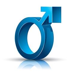 Male symbol vector image