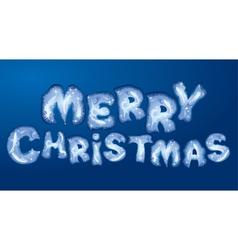 merry christmas 380 vector image