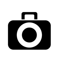photographic camera digital vector image