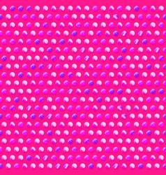 pink circle pattern vector image