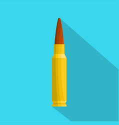 Small bullet icon flat style vector