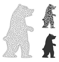 Standing bear mesh network model and vector