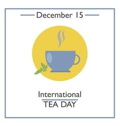 Tea Day vector