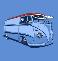 Vintage car 01 vector