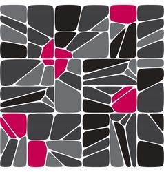 Mix seamless mosaic pattern vector image vector image