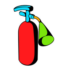 fire extinguisher icon icon cartoon vector image vector image