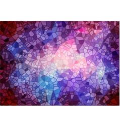Abstract mulicolor mosaic background vector