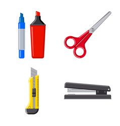 Isolated object of office and supply icon vector