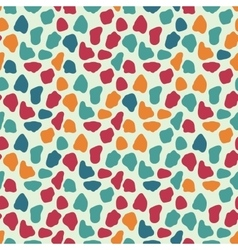 Abstract randome spots seamless pattern vector image
