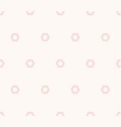 cute minimalist pink seamless pattern subtle vector image
