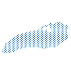 Dot ontario lake map vector